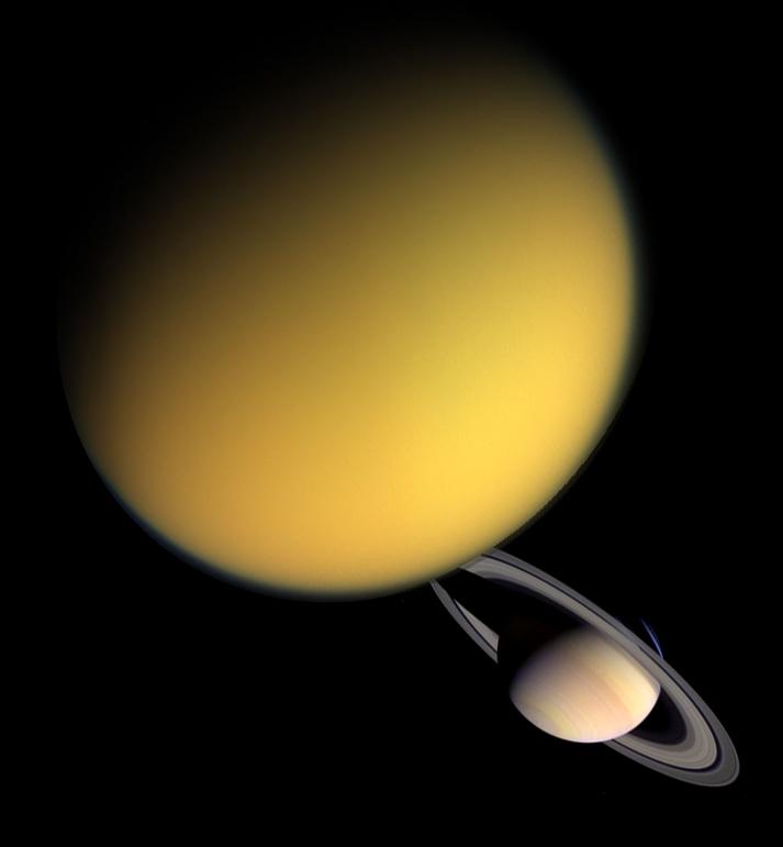 Saturnuksen suurimmalla kuulla Titanilla on samankaltaiset vuodenajat kuin Maalla   Tiedebasaari