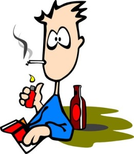 Runsas oluenjuonti ja runsas tupakointi ennustavat ikävää seuraavaa aaamua.