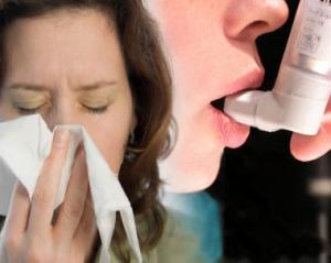 Oletettua useampi astmaatikko kärsii myös allergioista.