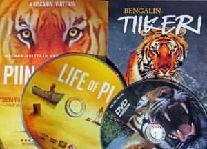 Intian kansalliseläin bengalintiikeri on ollut pääosassa kehutuissa ja palkituissa dokumentti- ja draamaelokuvissa. Seuraava pääosa saattaa jäädä vain käsikirjoituksen asteelle filmihankkeen kyseenalaisten rahoitusvaikeuksien seurauksena.