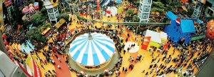The Mall of America vetää vuosittain 40 miljoonaa asiakasta, joiden viihtyisyyttä lisäävät 30 0000 kasvin istutusket.