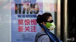 Uuden tyypin H7N9-lintuinfluenssasta varoitetaan väestöä julisteissa, jotka kertovat myös tautia vastaan suojautumisesta.