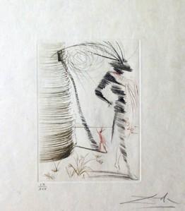 """Salvador Dalin """"Romeo ja Julia"""" kuuluu niihin yli sataan taideteokseen, jotka takavarikoitiin italialaisen mafiapomon hallusta."""