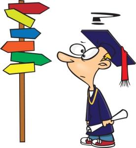 Alemman kandidaatintutkinnon suorittaneella brittiopiskelijalla on on edessään vaikea valinta, pyrkiäkö suoraan töihin vai jatkaako kalliita opintoja kohti ylempää tutkintoa.