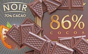 Laihduttajien ja terveysintoilijoiden toiveuni näyttää toteutuneen: Suklaan syönti laihduttaa! Kuva: Kai Aulio.
