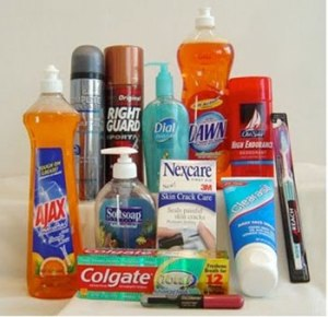 Monet tutut, kotien jokapäiväisessä puhdistuksessa käytettävät valmisteet sisältävät triklosaania.