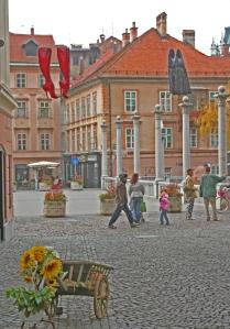Autoilta rauhoitetut keskusta-alueet ovat Ljubljanan valtti kestävän kehityksen arvioinnissa.
