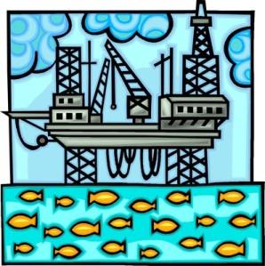 Öljynporauslauttojen luontovaikutukset pääsevät julkisuuteen yleensä vain onnettomuuksien aiheuttamien mittavien haittojen yhteydessä. Mutta öljynporauksen sujuessa ongelmitta merten kalasto viihtyy ja tuottaa lauttojen tuntumassa erinomaisesti.