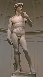 Michelangelon David on niin arvokas monumentti, että Italian valtio kiirehtii rahoittamaan veistokselle mahdollisimman hyvän suojan Toscanan alueella yleisten maanjäristysten varalle.