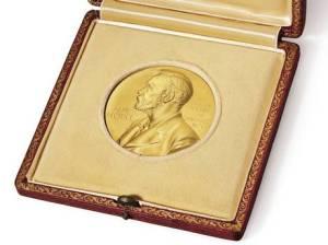 Nobel-mitali.