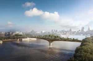 Puutarhasillasta tulisi varmasti yhtä suosittu  nähtävyys kuin Lontoon edellisestä siltahankkeesta, The Millenium Bridge -kävelysillasta.
