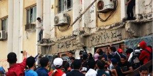 Mielenosoitukset ovat yleisiä ja usein väkivaltaisiakin Kairon Al-Azar -yliopiston kampuksella.