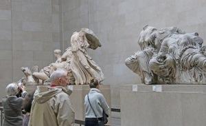 Parthenonin patsaat – Elginin marmorit – ovat British Museumin suurimpia vetonauloja.