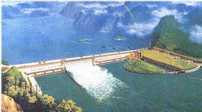 Kolmen rotkon voimalaitos Jangtse-joessa on teholtaan maailman suurin.