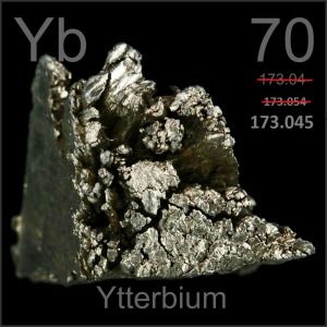 Harvinaisten maametallien ryhmään kuuluvan ytterbiumin keskeinen ominaisuus on määritelty uudelleen.