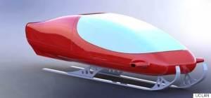 Moderni, brittiopiskelijoiden suunnittele rekimalli voi nopeuttaa joulupukin matkantekoa jopa kolmella tunnilla.