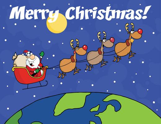 Joulupukin on liikuttava valon nopeutta ripeämmin ehtiäkseen maailman kaikkien lasten luokse. Matkanteko on rasittavaa, ja aerodynaamisesti vanhanaikainen reki hidastaa pukin ja porojen matkantekoa. Kuvalähde: www.icipart.com.