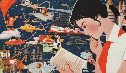 Kiinan tiede, tutkimus ja koulutus kukoistavat kaikilla tasoilla – alakoulusta avaruuteen. Kuva: Channel G&E News.