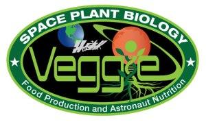 Veggie -ohjelman tunnus.Kuva NASA