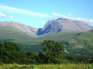 Ben Nevis .vuoren huippu kohoaa 1 345 metriin. Kuva: en.wikipedia.org,