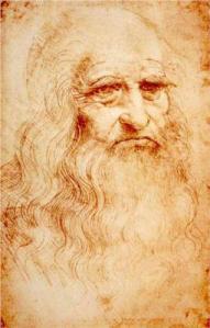 Leonardo da Vincin kuuluisa omakuva on kuvana kaikille tuttu, mutta itse teos on harvoin yleisön nähtävillä. Kuva: wikiart.org.