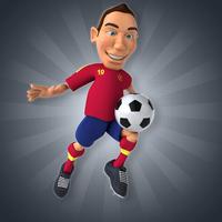 Säännöllinen jalkapalloiluharrastus kohentaa ikämiehen lihaskuntoa, sydäntervesyttä, alentaa diabetesriskiä, ja parantunut lihaskunto auttaa jokapäiväisten askareiden ylläpidossa jopa paremmin kuin paljon mainostettu kuntosaliharjoittelu. Kuva: iclipart.com.