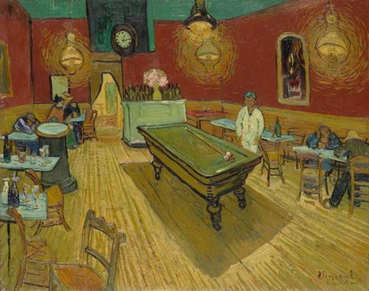 Yökahvila-teoksen (Le Café de Nuit) kohtaloa ovat ratkoneet vallankumous, hallitukset, taidekauppiaat ja lopulta Yhdysvaltain Korkein oikeus. Kuva: en.wikipedia.org.