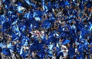 Historiallinen Valioliigan mestaruus on Leicesterissä koko kaupungin yhteinen juhlan aihe. Kuva: channelnewsasia.com.