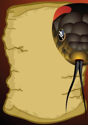 Käärmeenpuremat ovat etenkin tropiikissa yksi vakavimmista ihmisen henkeä uhkaavista vaaroista. Kuva: iclipart.com.