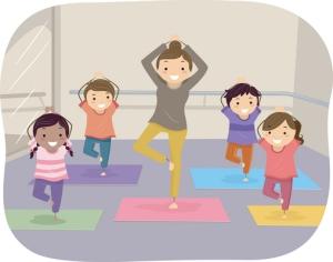 Jooga on peräisin Intiasta, ja jatkossa tämän kokonaisvaltaisen elämänhallinnan opetus tahdotaan kaikkien koulujen ohjelmaan. Kuva: iclipart.com.