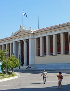 Ateenan yliopisto ei saa ainakaan näillä näkymin yksityisiä kilpailijoita. Kuva: Kai Aulio.