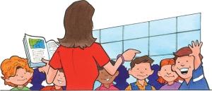 Brittikouluissa valitettavan monen opettajan työ jää lyhyeksi pätkäkaudeksi. Kuva: iclipart.com.