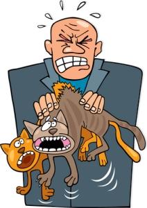 Vakavista eläinrääkkäys- ja tuotantoeläinten laiminlyöntitapauksista on langettu ehdottomia vankeusrangaistuksia Pohjois-Irlannissa aikaisemminkin, mutta lakimuutoksen myötä rangaistusasteikko kovenee. Kuva: iclipart.com.