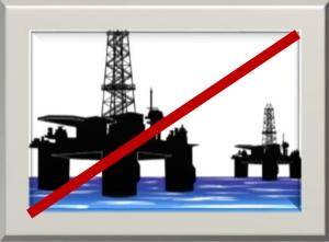 Ainakaan Yhdysvaltain luvalla arktisilla merialueilla ei käynnistetä uusia öljyn tai kaasun poraustoimintoja viiteen vuoteen. Kuvalähde: iclipart.com.