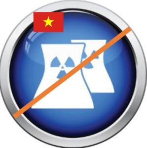 Vietnam katsoo, että ydinvoima on liian kallista ja riskialtista. Kuvalähde: iclipart.com.