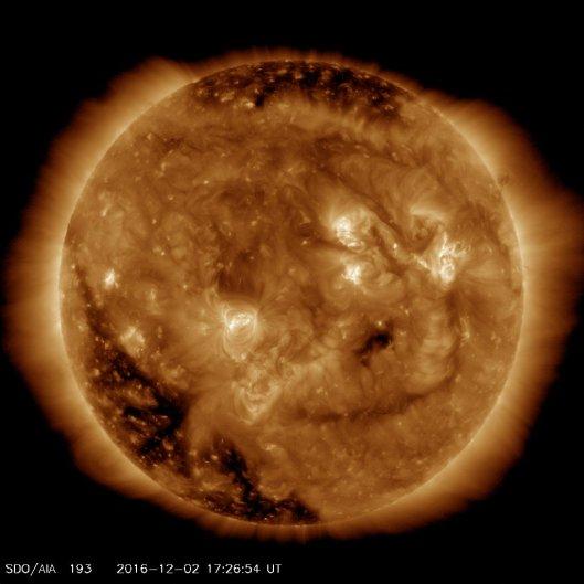 Kuva: NASA, Solar Dynamics Observatory.