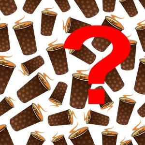 Kahvi on suosittu ja suositeltavakin piriste, mutta kofeiinipitoisen juoman kokonaismäärä on syytä tuntea. Kuva: iclipart.com.