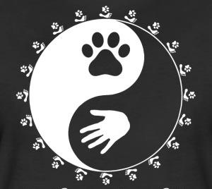 Kansainvälisesti tunnettu eläinten ja ihmisten oikeuksia ja tasa-arvoa kuvaava symboli noudattaa myös islamin periaatteita ja vaatimuksia. Kuva: spreadshirtsmedia.com.