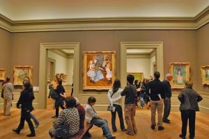 Kokoelmien digitoinnin ja vapaan julkaisun periaattein toteutetun internetlevityksen ansiosta New Yorkin Metropolitan -taidemuseon arvoteoksia pääsee ihailemaan myös matkustamatta museoon. Kuva: tourist-destination.